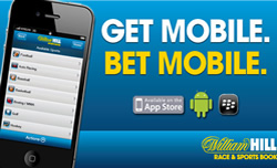 William Hill lanza aplicación para android